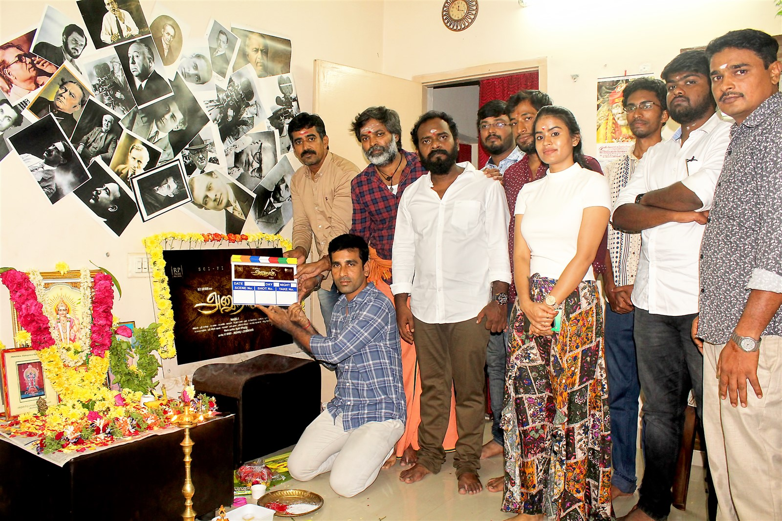 Anunnaki Tamil Movie Pooja Stills