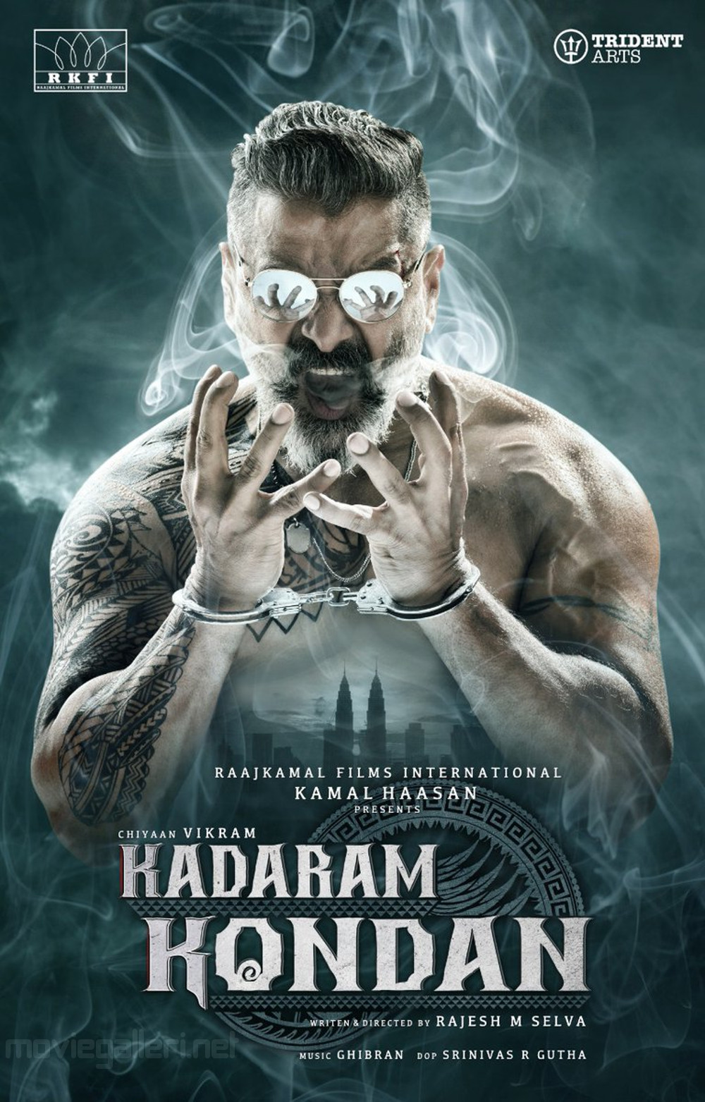 Chiyaan Vikram Kadaram Kondan First Look Poster HD