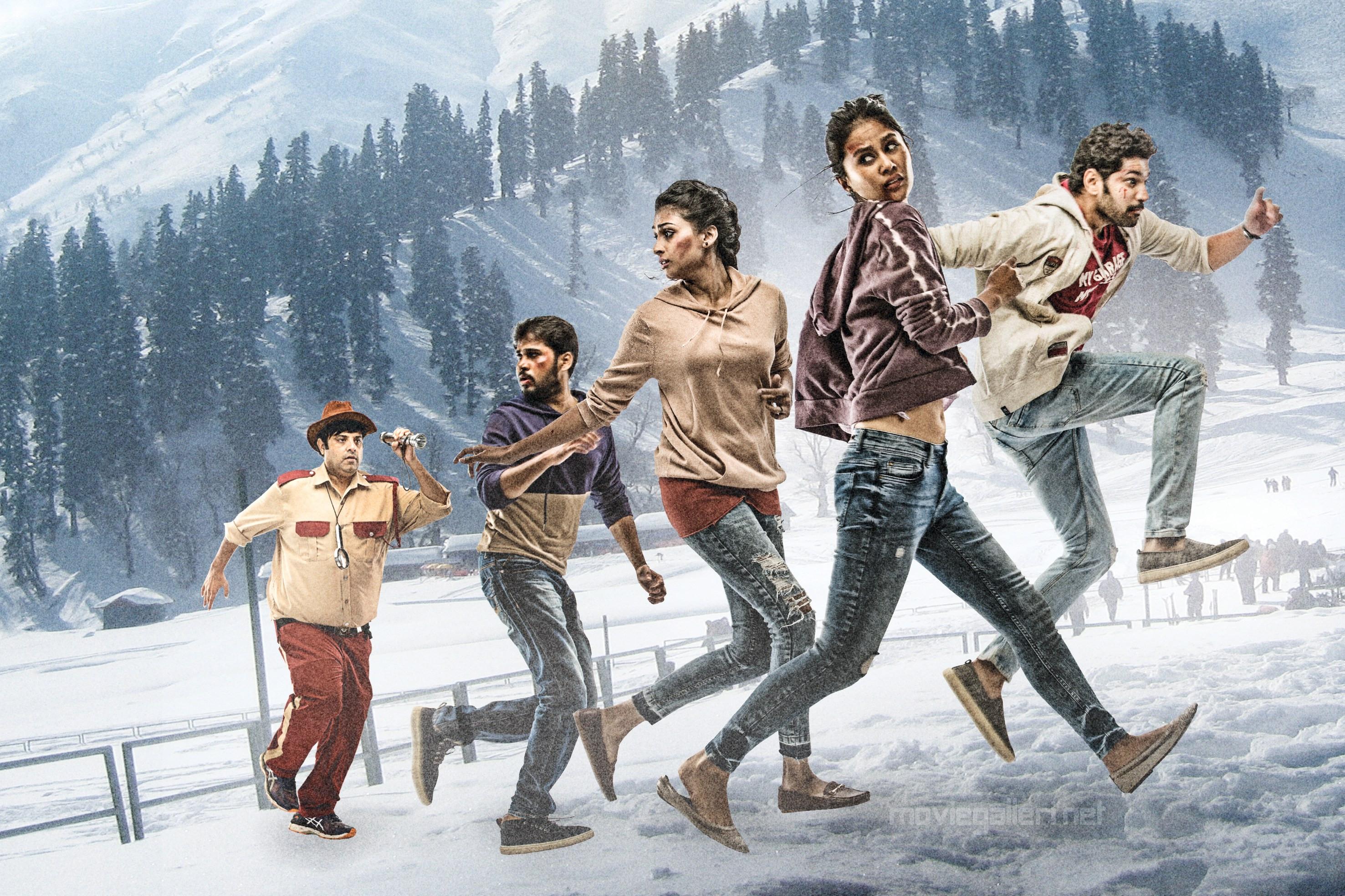Krishnudu, Parvateesam, Karthik Raju, Sasha Chettri, Nithya Naresh in Operation Gold Fish Movie Pics HD
