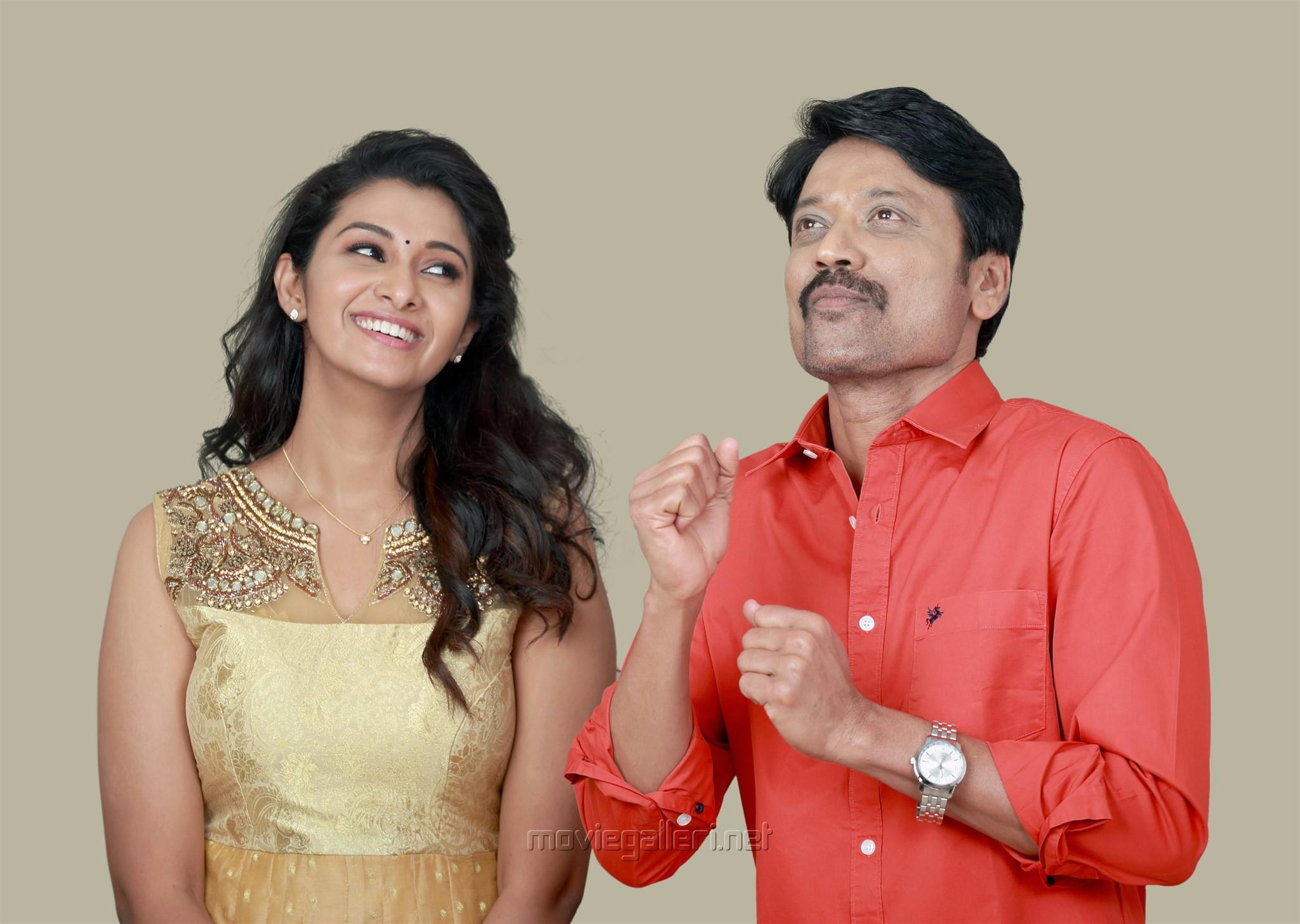 Priya Bhavani Shankar, SJ Suryah in Monster Tamil Movie Pics HD