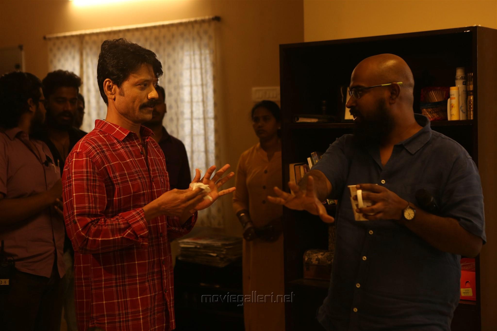 SJ Surya, Nelson Venkatesan in Monster Tamil Movie Pics HD