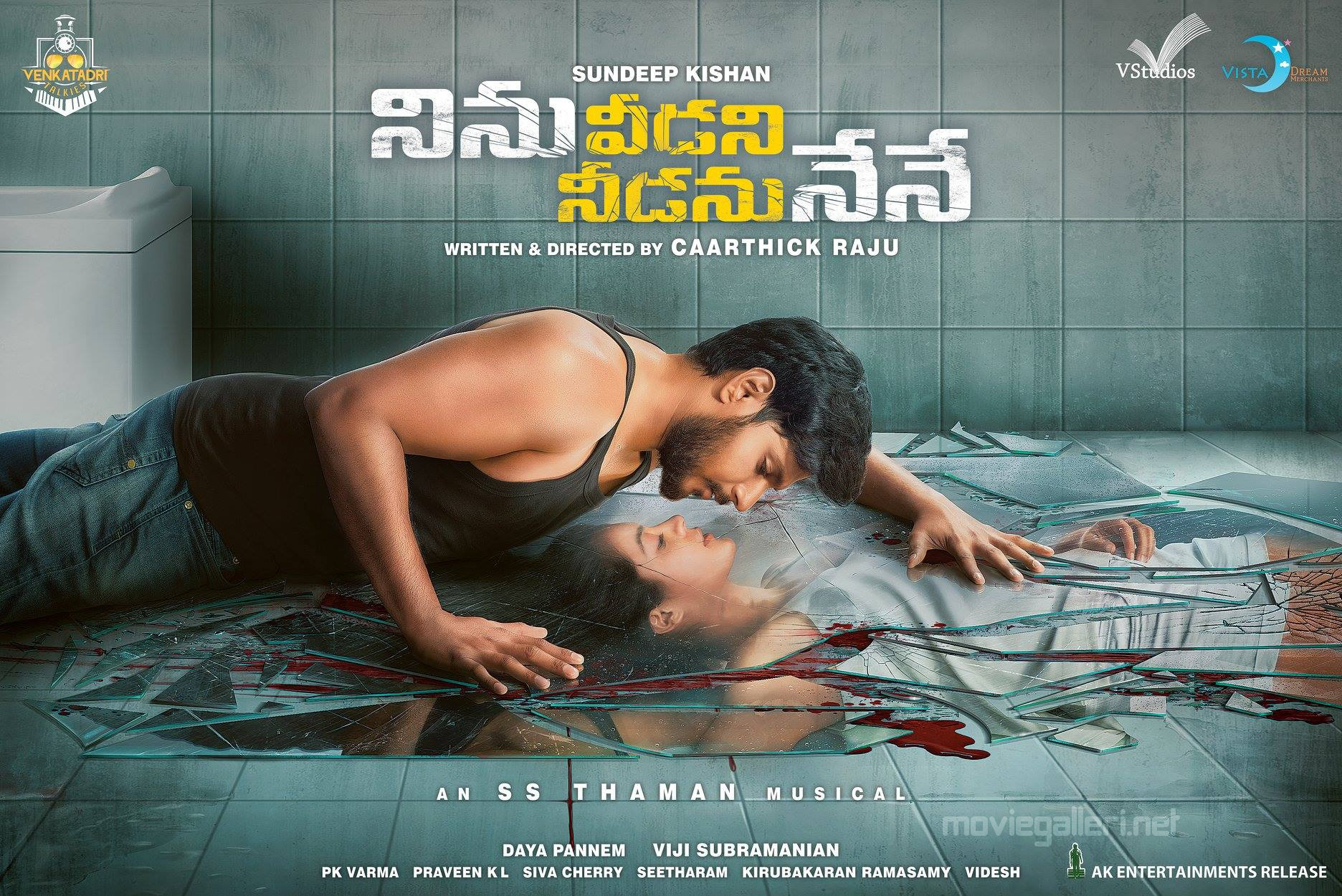 Sundeep Kishan, Anya Singh Ninu Veedani Needanu Nene First Look Poster HD