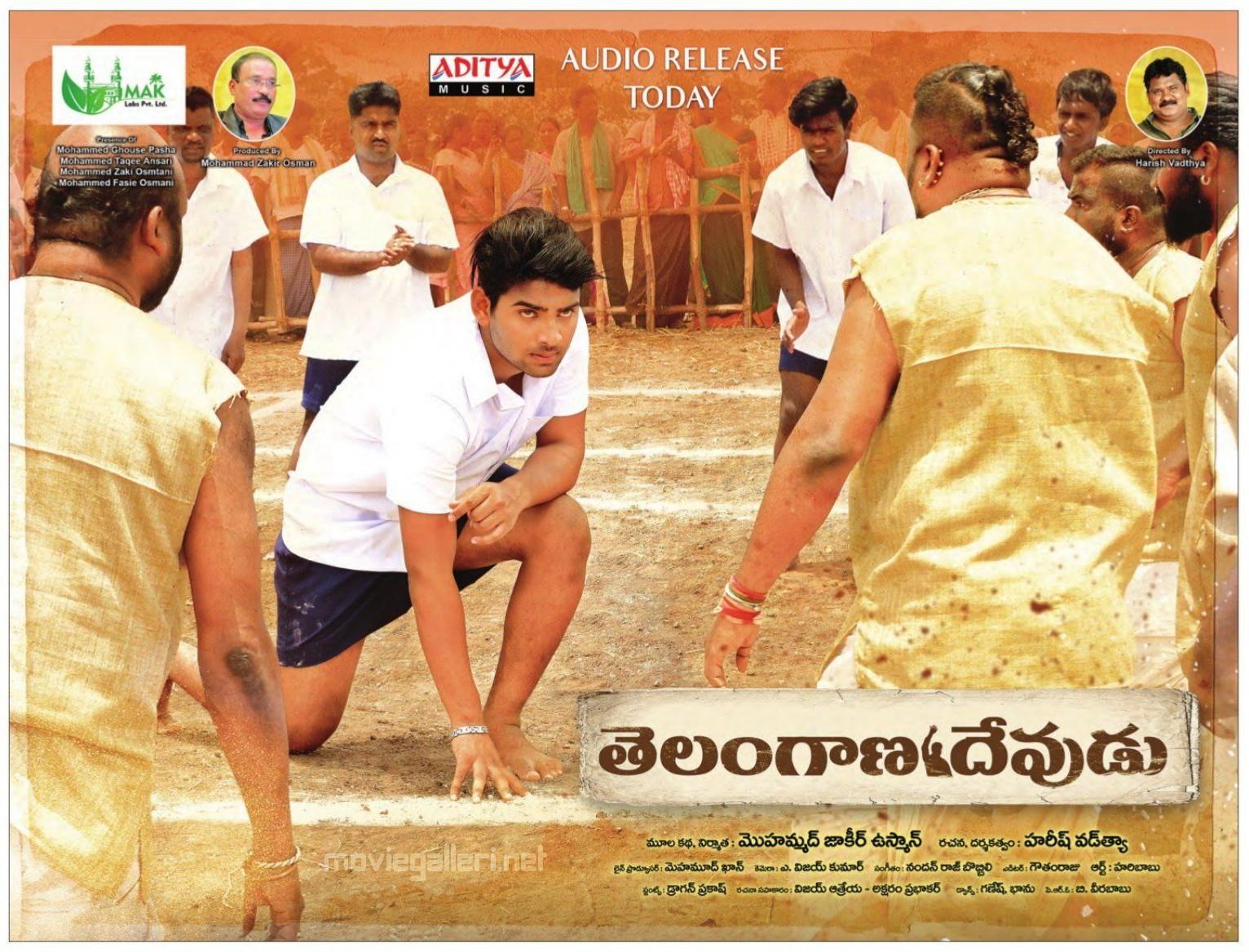 Telangana Devudu Movie Audio Release Today Posters