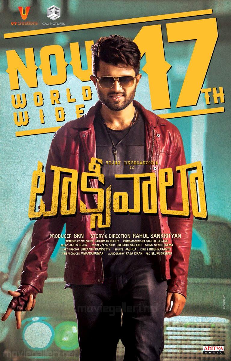 Vijay Devarakonda Taxiwala Movie Release Posters