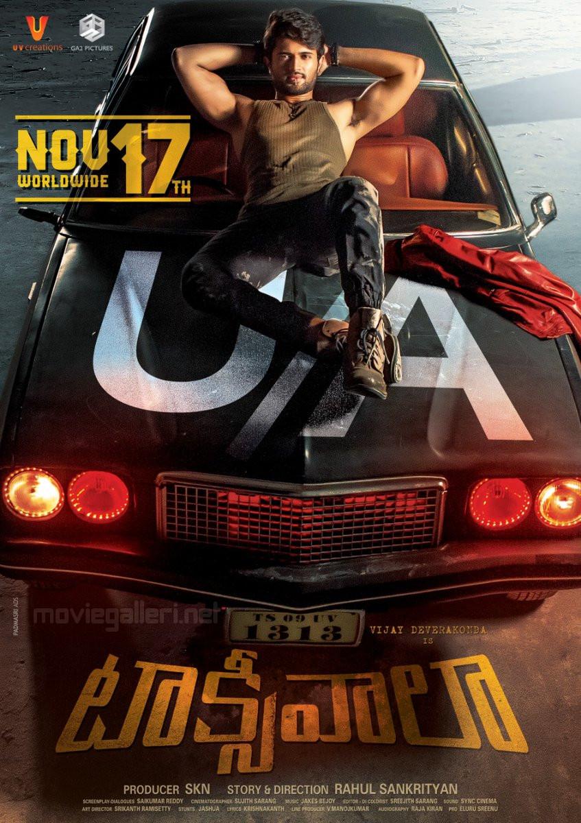 Vijay Deverakonda Taxiwala Movie Release Posters