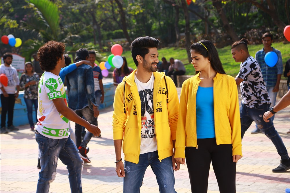 Viswant Pallak Lalwani Crazy Crazy Feeling Movie Pics