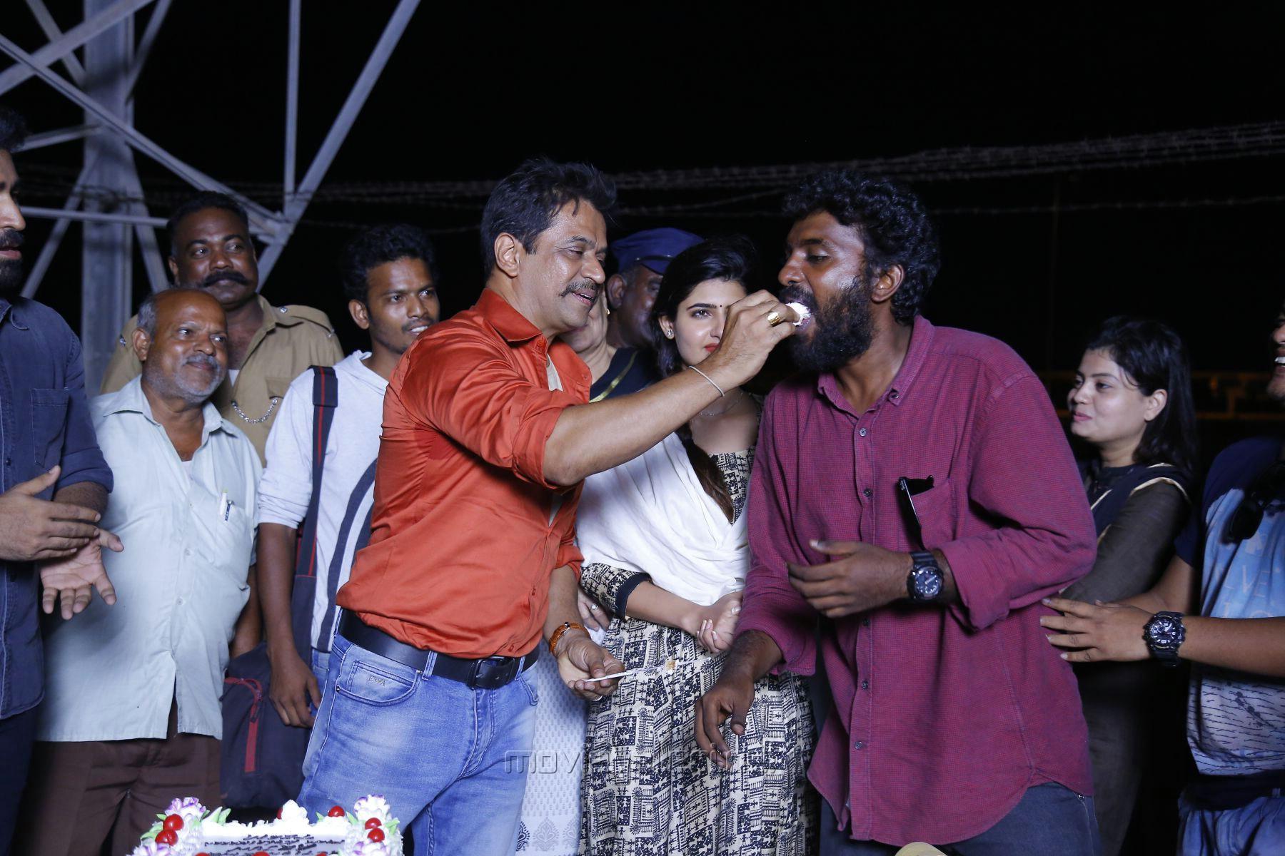 Actor Arjun Completes his Portion for Kolaikaran Movie