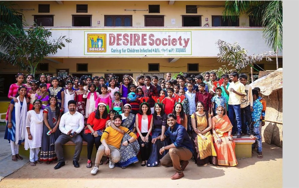 Actress Samantha Plays For Desire Society Kids