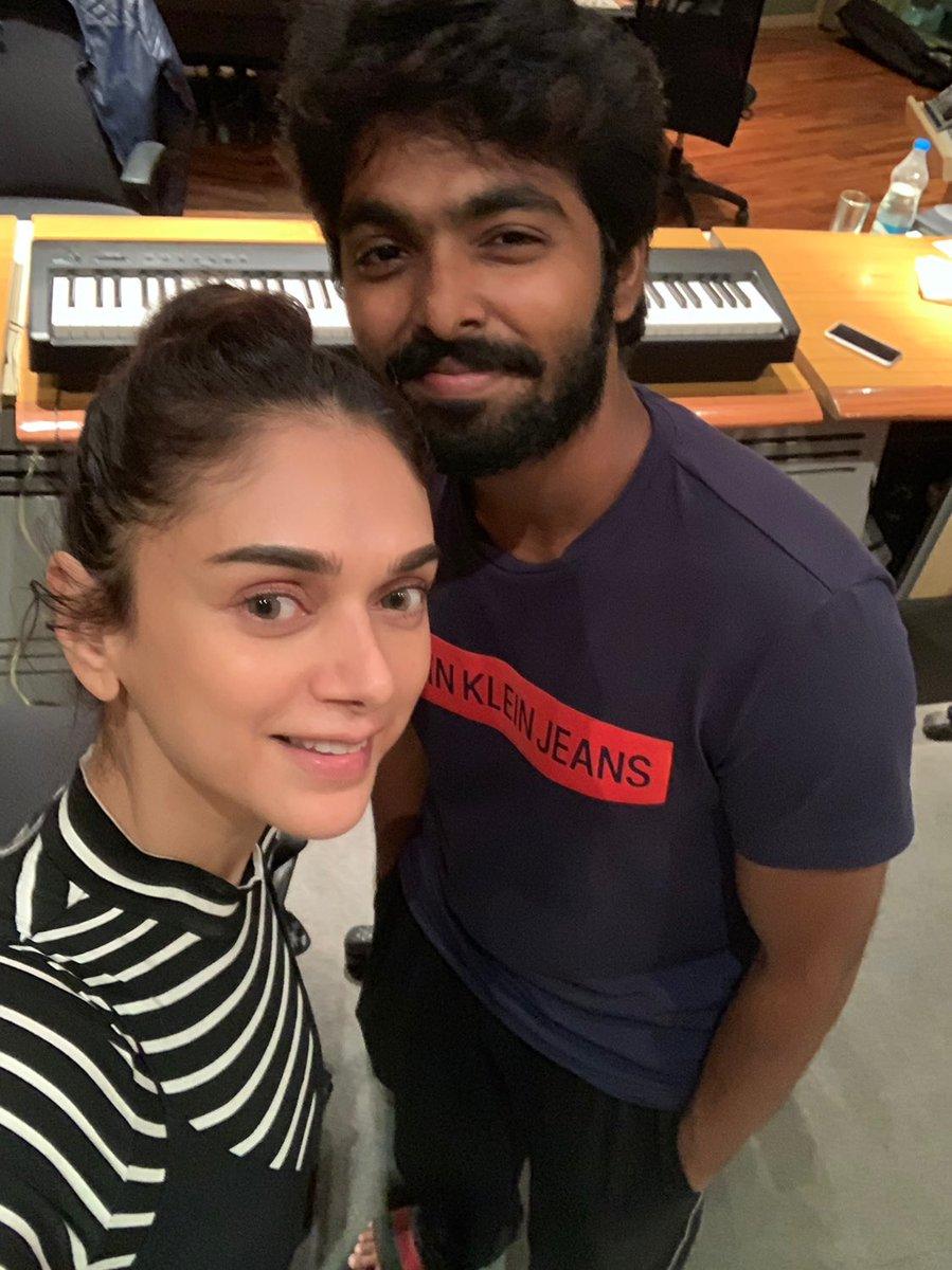 Aditi Rao Hydari's duet with GVP