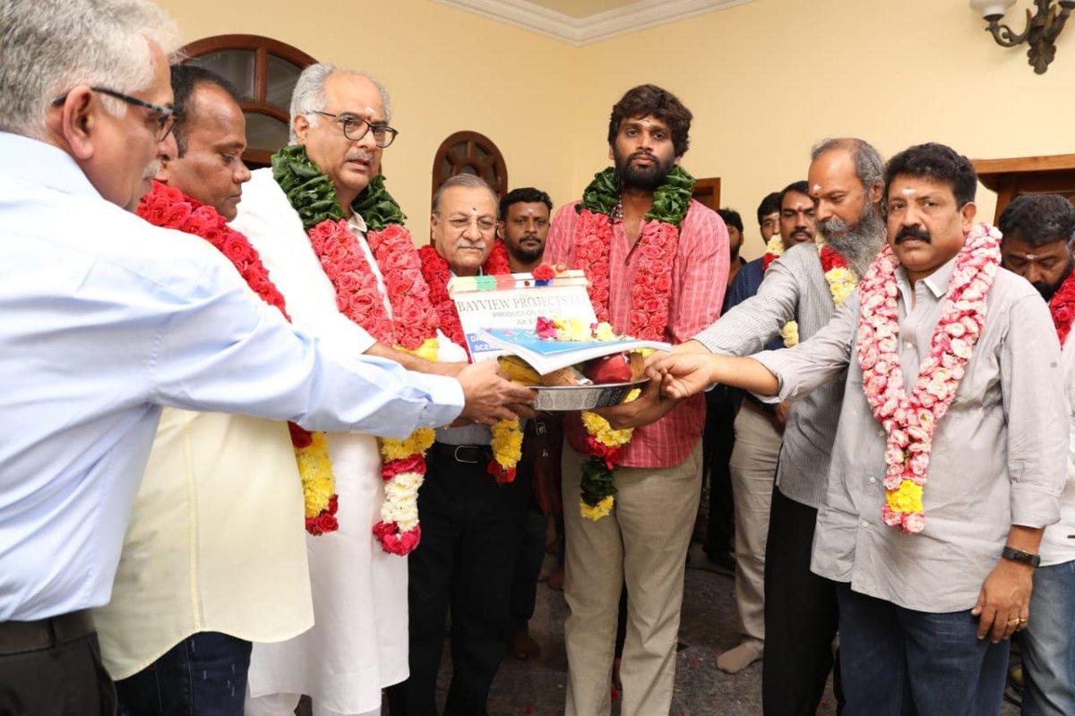 Ajith Kumar 59th film launched in Chennai