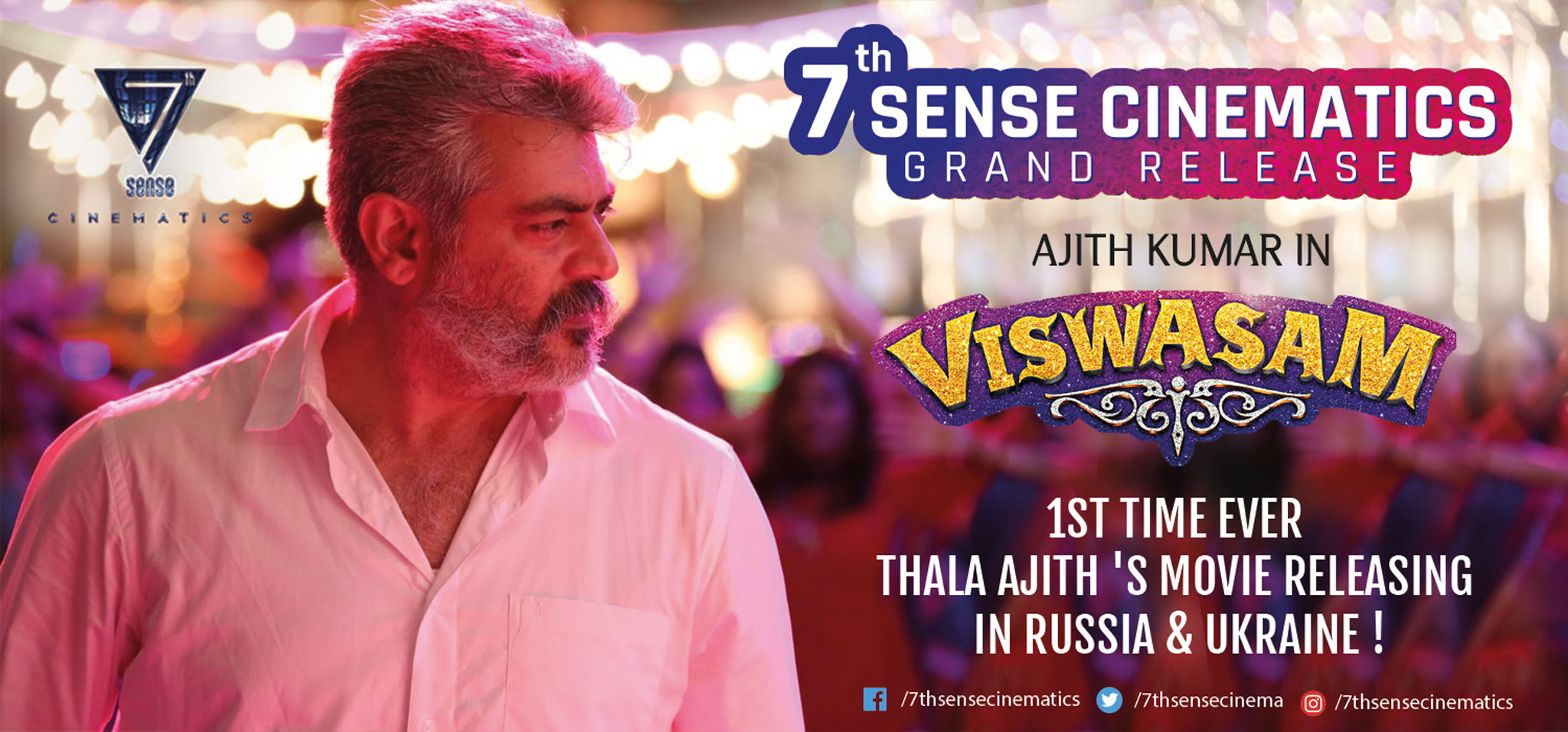 Ajith Viswasam creates record of Highest Tamil release in Russia