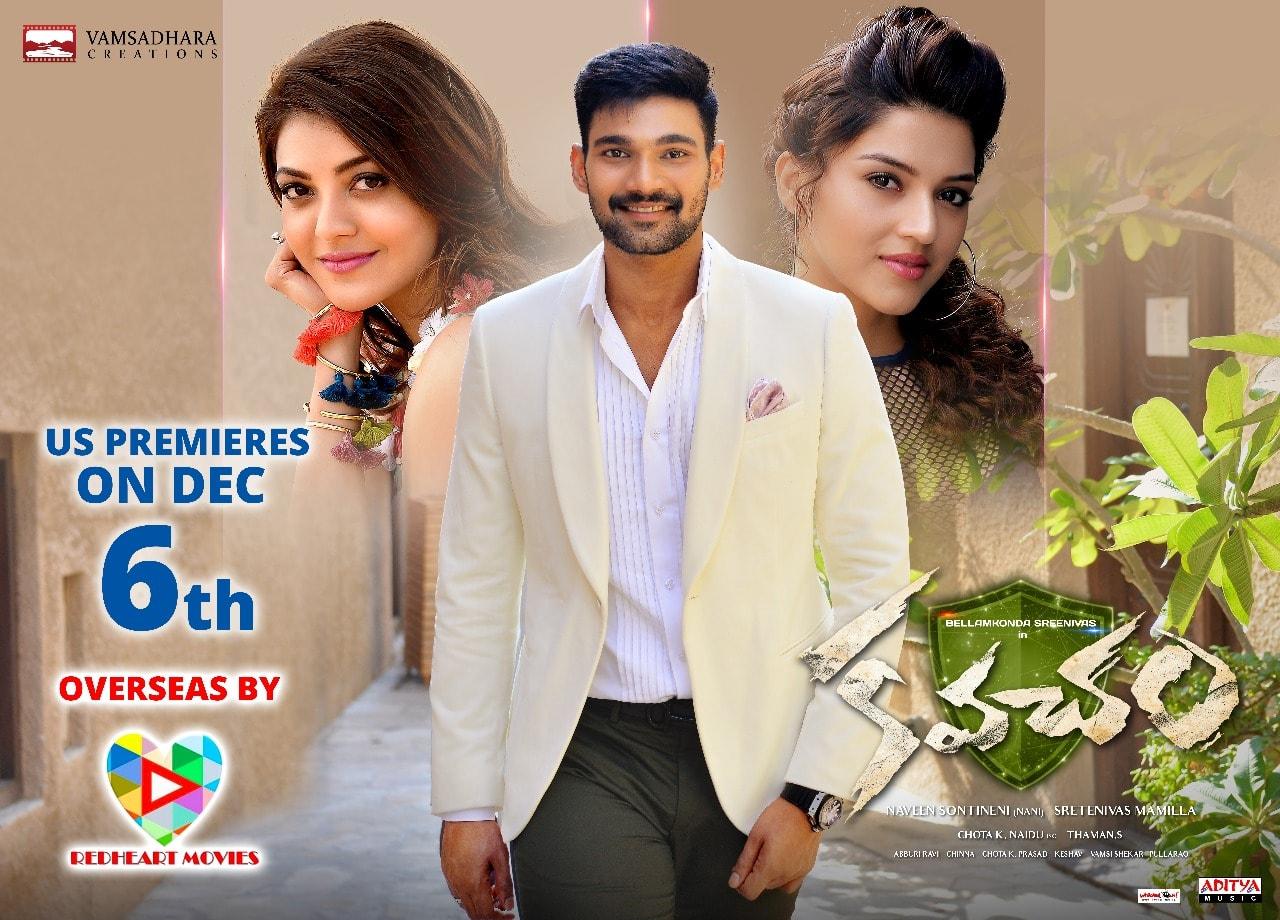 Bellamkonda Sreenivas Kavacham Overseas Release By RedHeart Movies