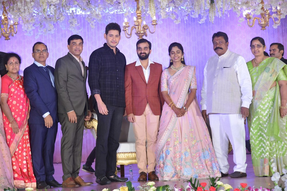 Dil Raju Nephew Harshith Reddy & Goutami Wedding Reception