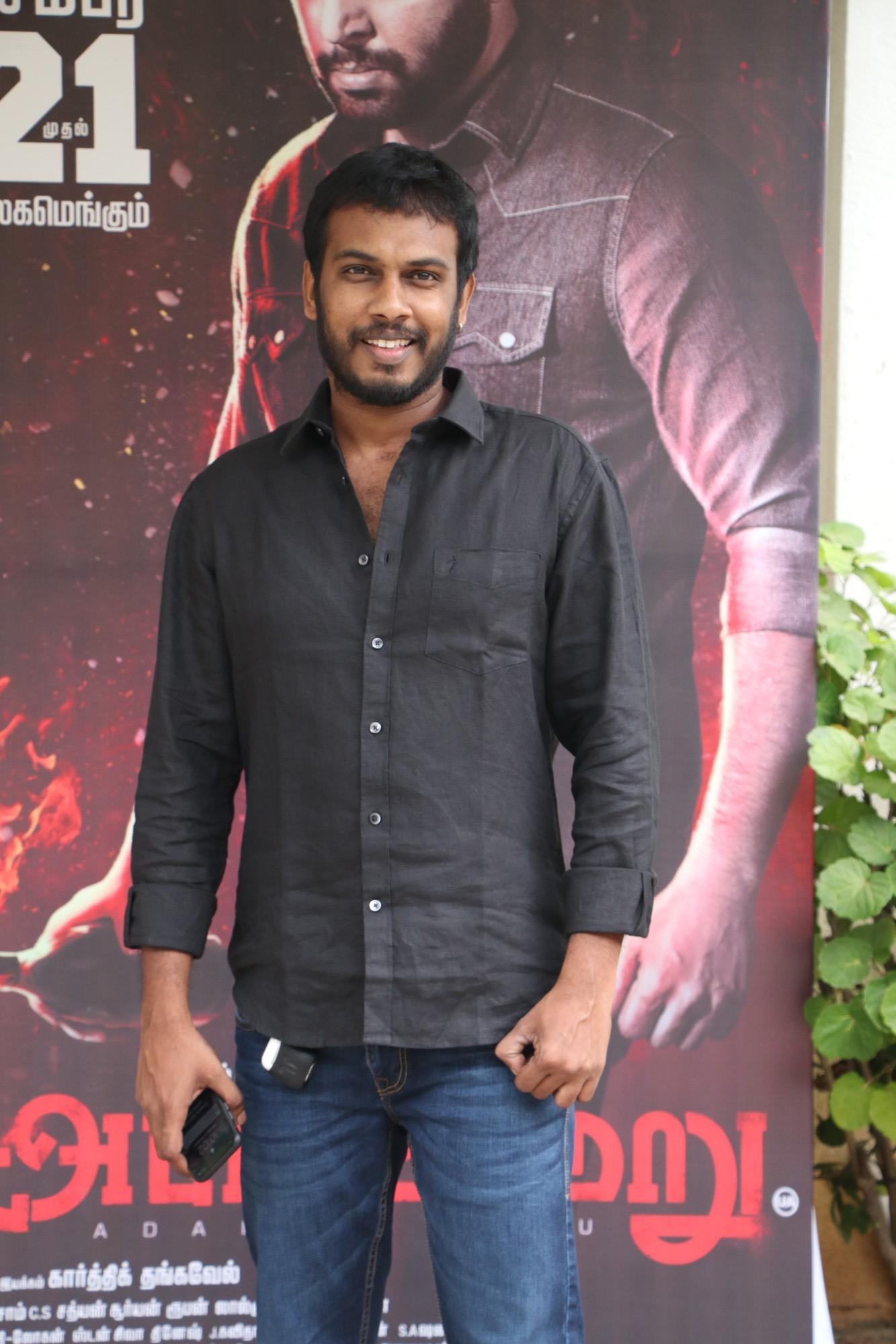 Filmmaker Karthik Thangavel on Adanga Maru Movie