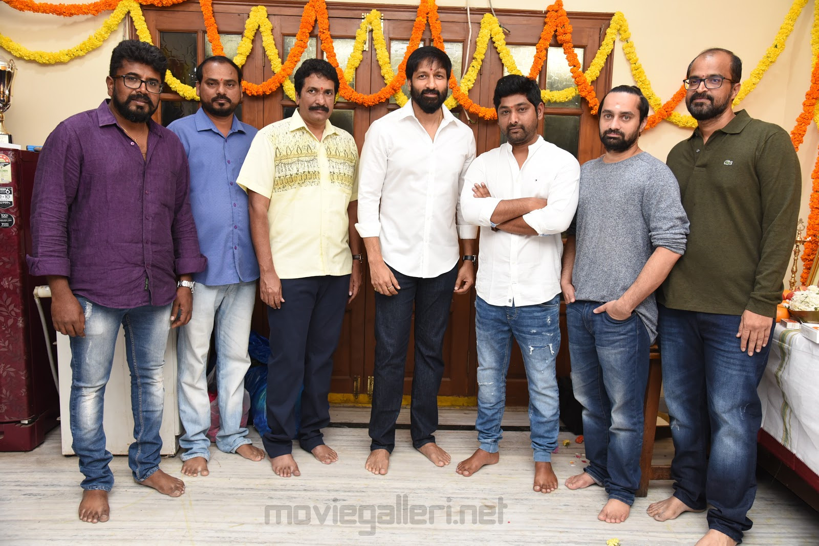 Gopichand, Thiru and AK Entertainments Production No 18 Launched