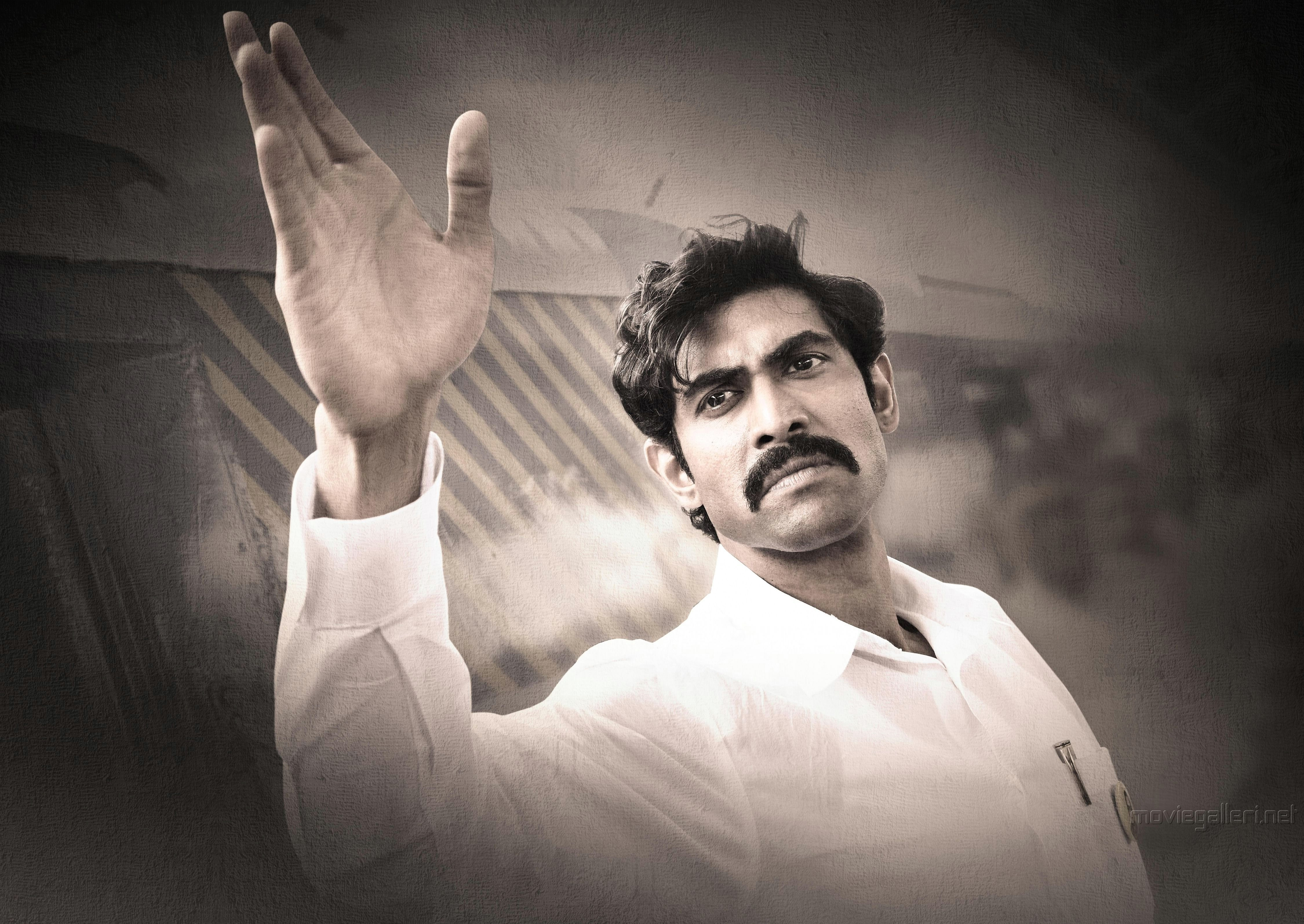 Introducing Rana Daggubati as Nara Chandrababu Naidu from NTR Biopic HD Wallpaper