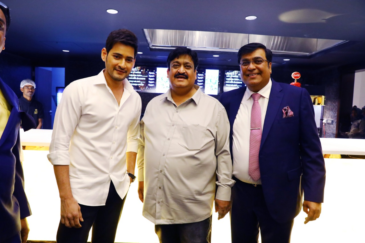 Mahesh Babu AMB Cinemas Launch Pics