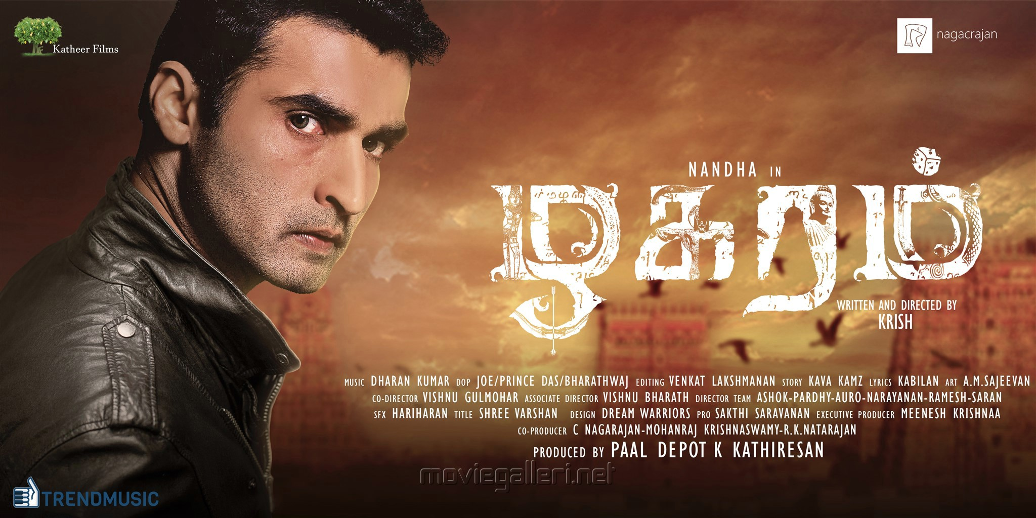 Nandha Zhagaram Movie Poster HD