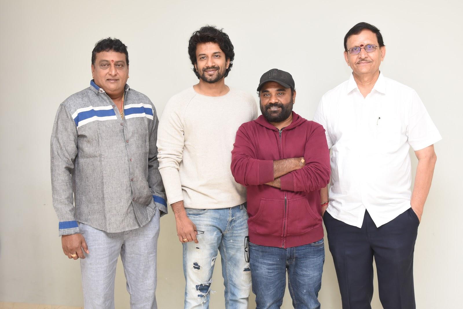 Prudhvi Raj, Satya Dev, Gopi Ganesh, Shivalan Krishna Prasad @ Bluff Master Movie Trailer Launch Stills