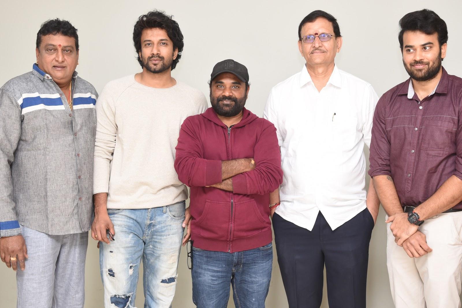 Prudhvi Raj, Satya Dev, Gopi Ganesh, Shivalan Krishna Prasad, Krishna Chaitanya @ Bluff Master Movie Trailer Launch Stills