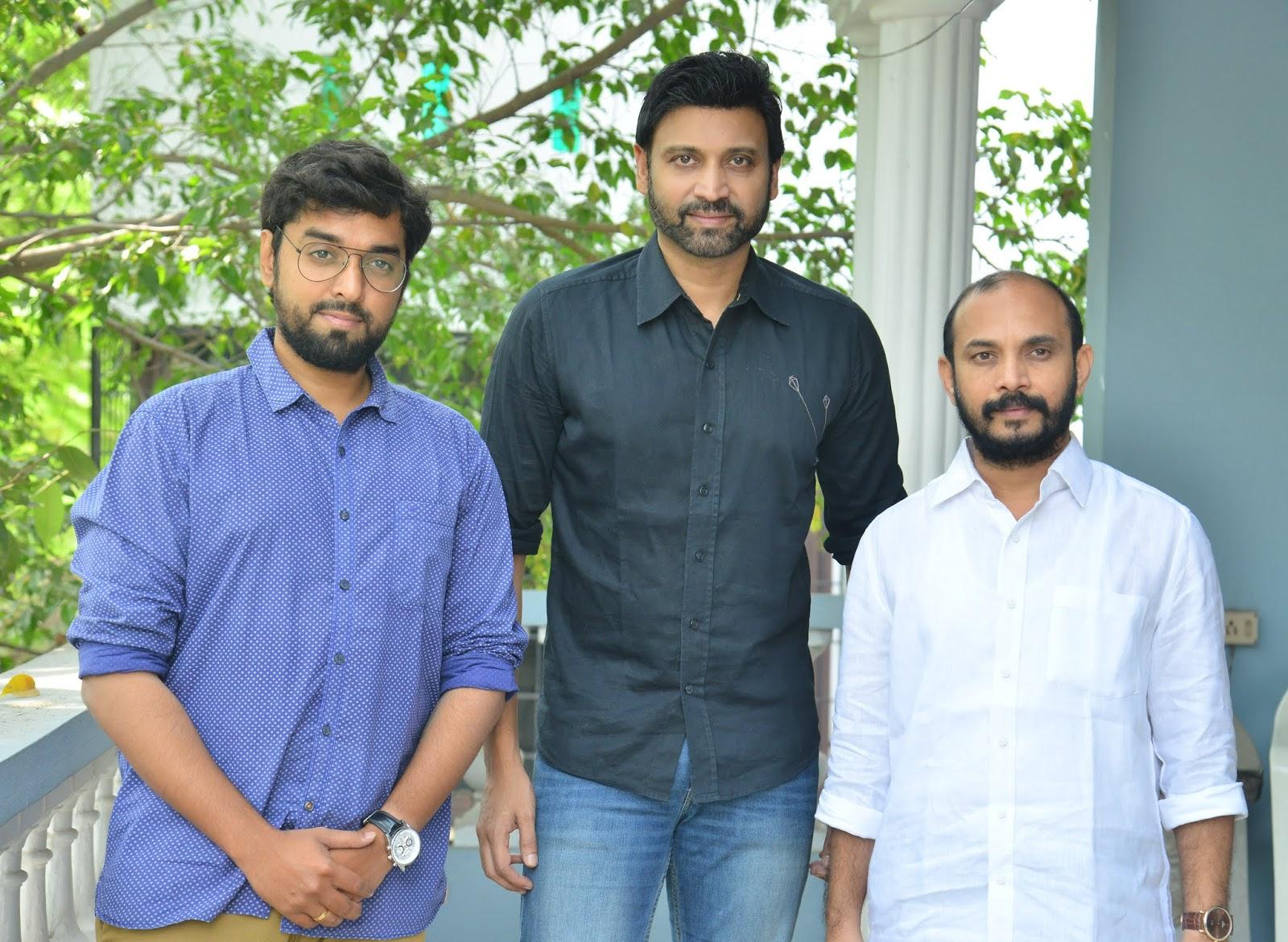 Santhosh Jagarlapudi, Sumanth, Beeram Sudhakar Reddy @ Subramaniapuram Movie Press Meet Stills