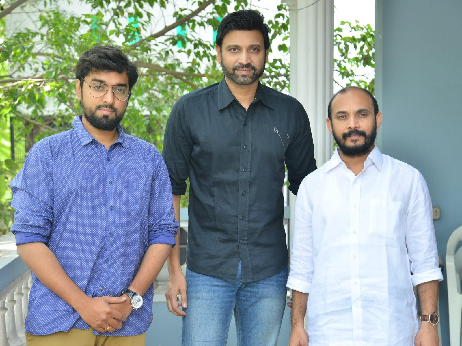 Santhosh Jagarlapudi, Sumanth, Beeram Sudhakar Reddy @ Subramaniapuram Telugu Movie Press Meet Stills