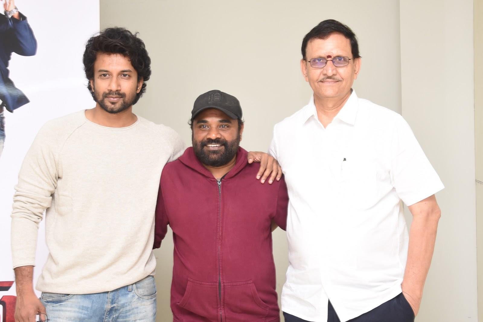 Satya Dev, Gopi Ganesh, Shivalan Krishna Prasad @ Bluff Master Movie Trailer Launch Stills