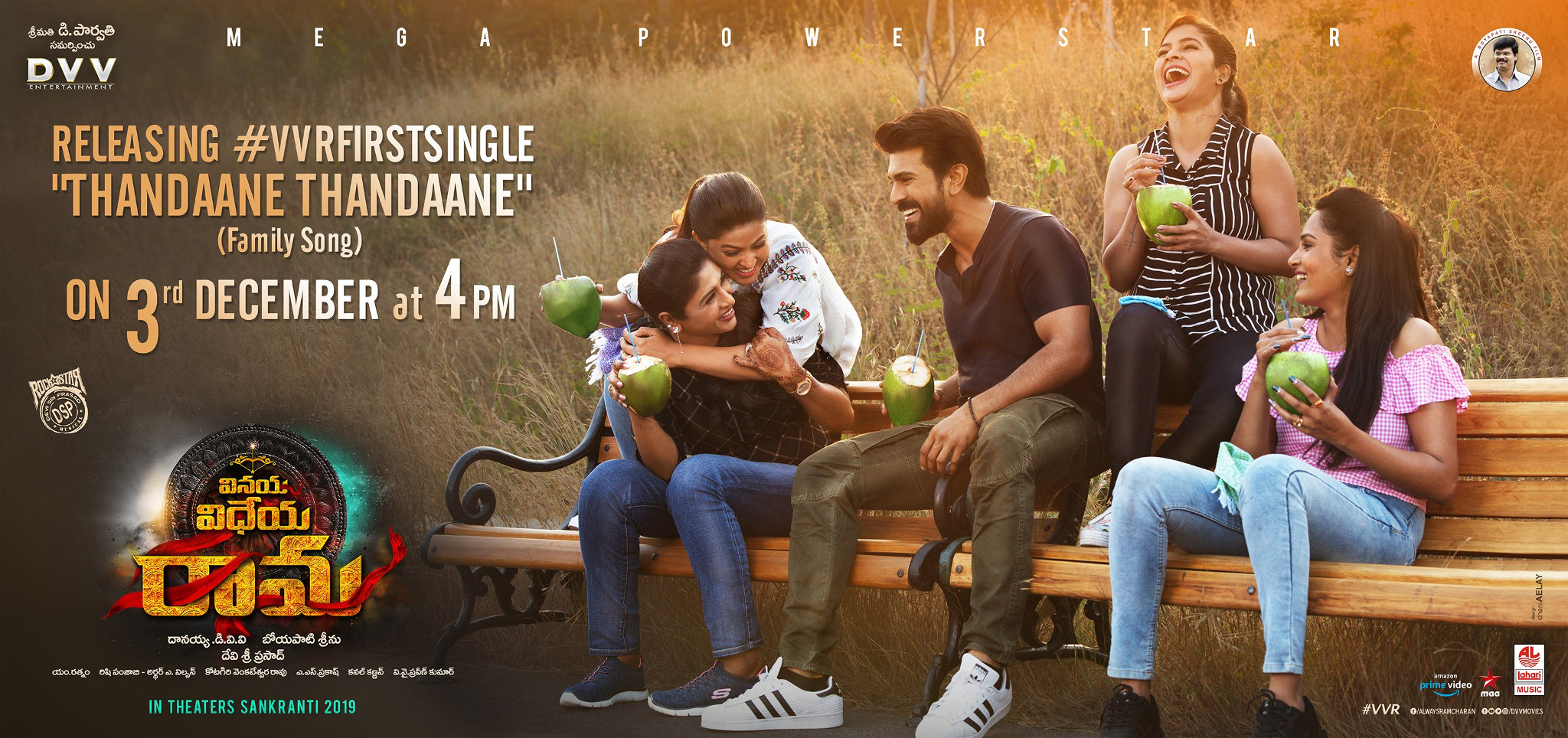 VVR First Single Thandaane Thandaane Release Poster