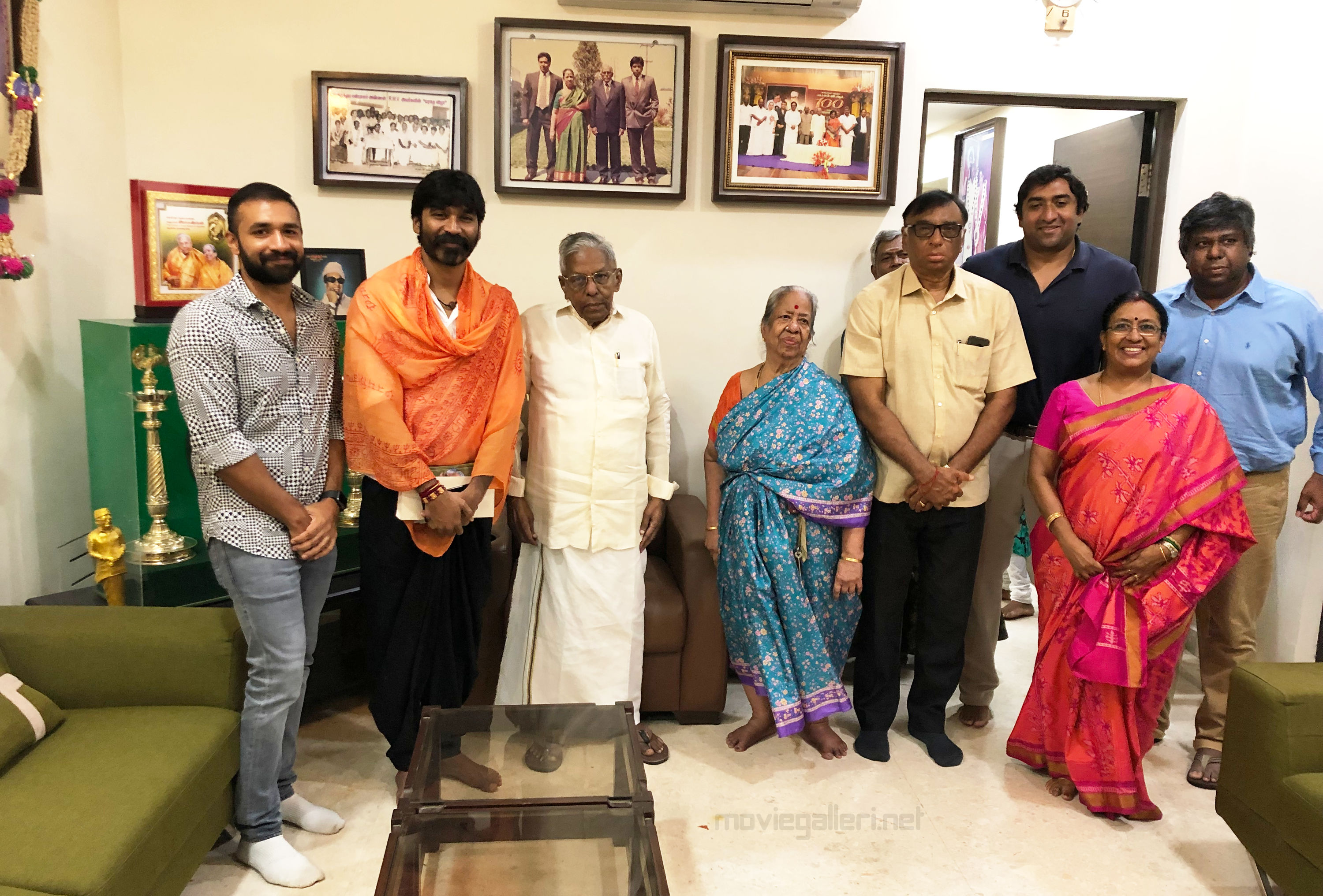 Actor Dhanush untitled projects produced by Sathya Jyothi Films Productions
