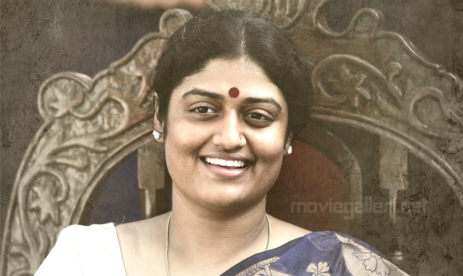Actress Ashrita as YS Vijayamma in YSR Biopic Yatra Movie