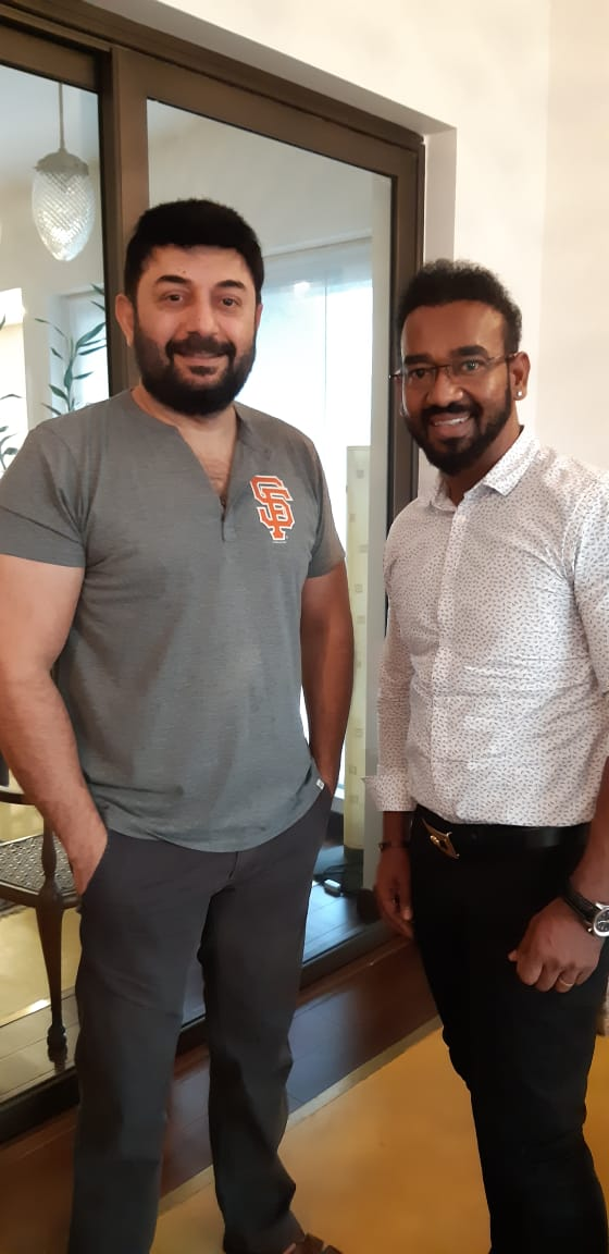 Aravind Swamy to ride Etcetera Entertainment's 12th travel