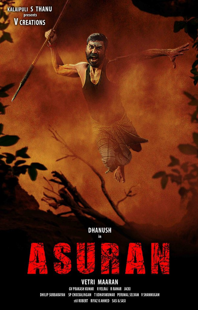 Asuran Dhanush First Look Poster
