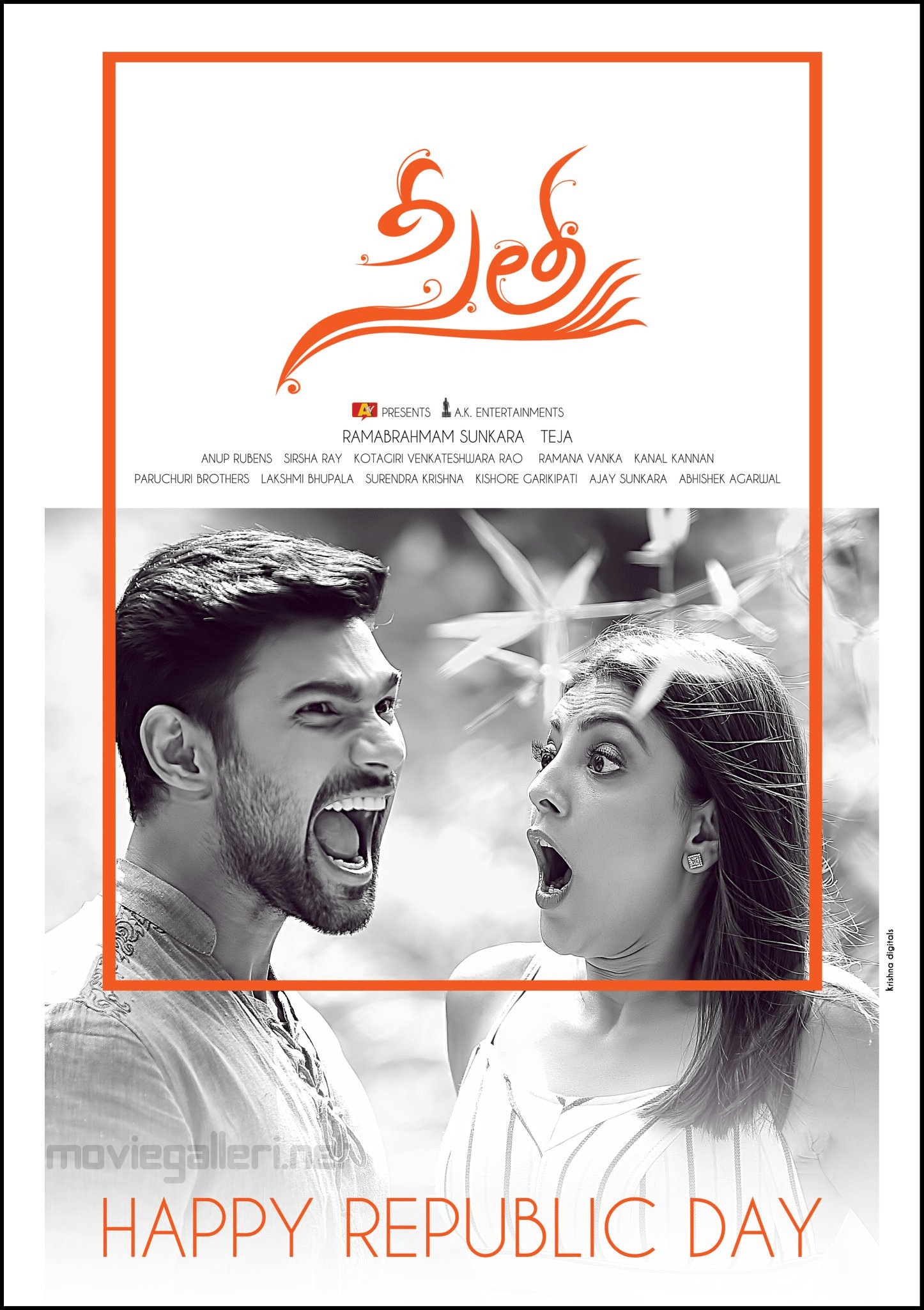 Bellamkonda Sai Sreenivas Kajal Aggarwal Sita Movie First Look Poster HD