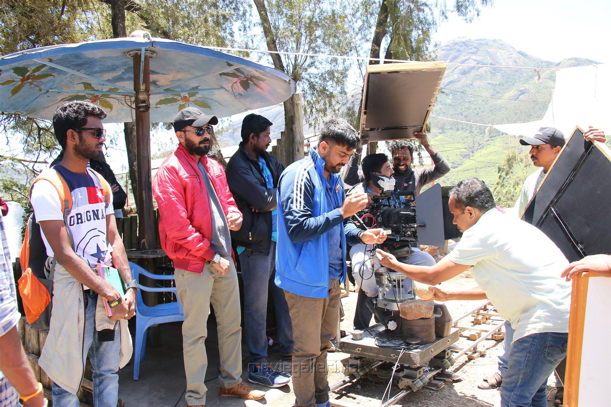Bharath Naduvan Movie Shooting Spot Stills