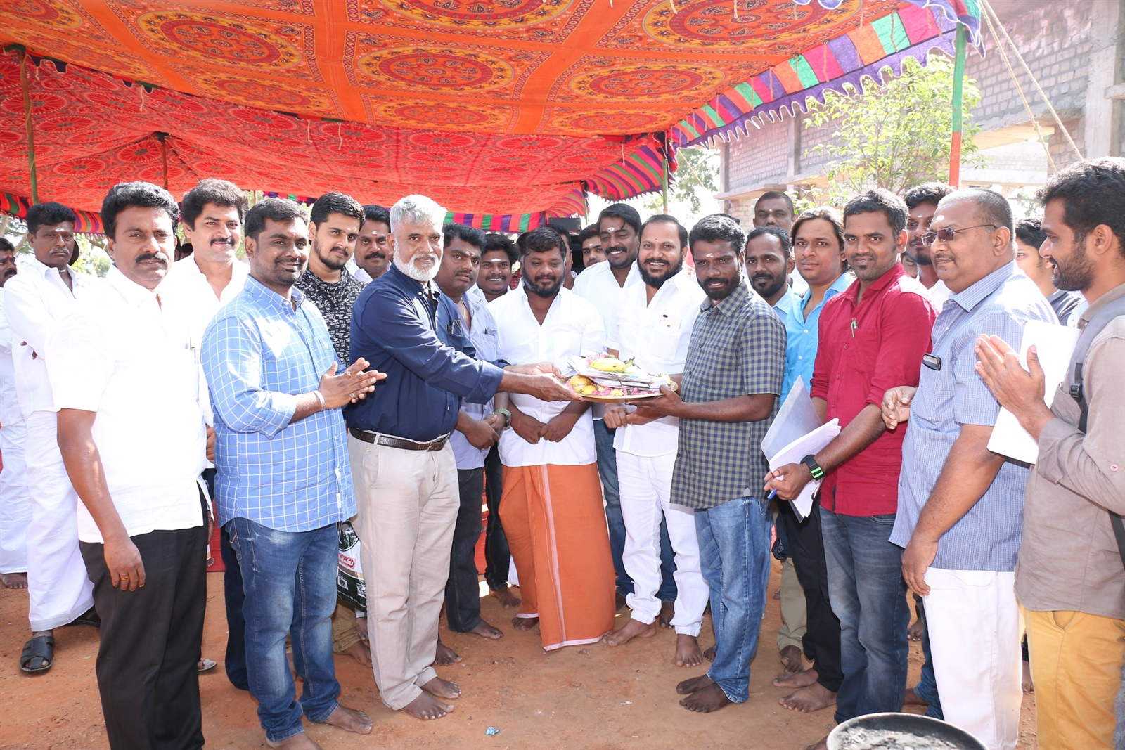 Danny Tamil Movie Pooja Stills