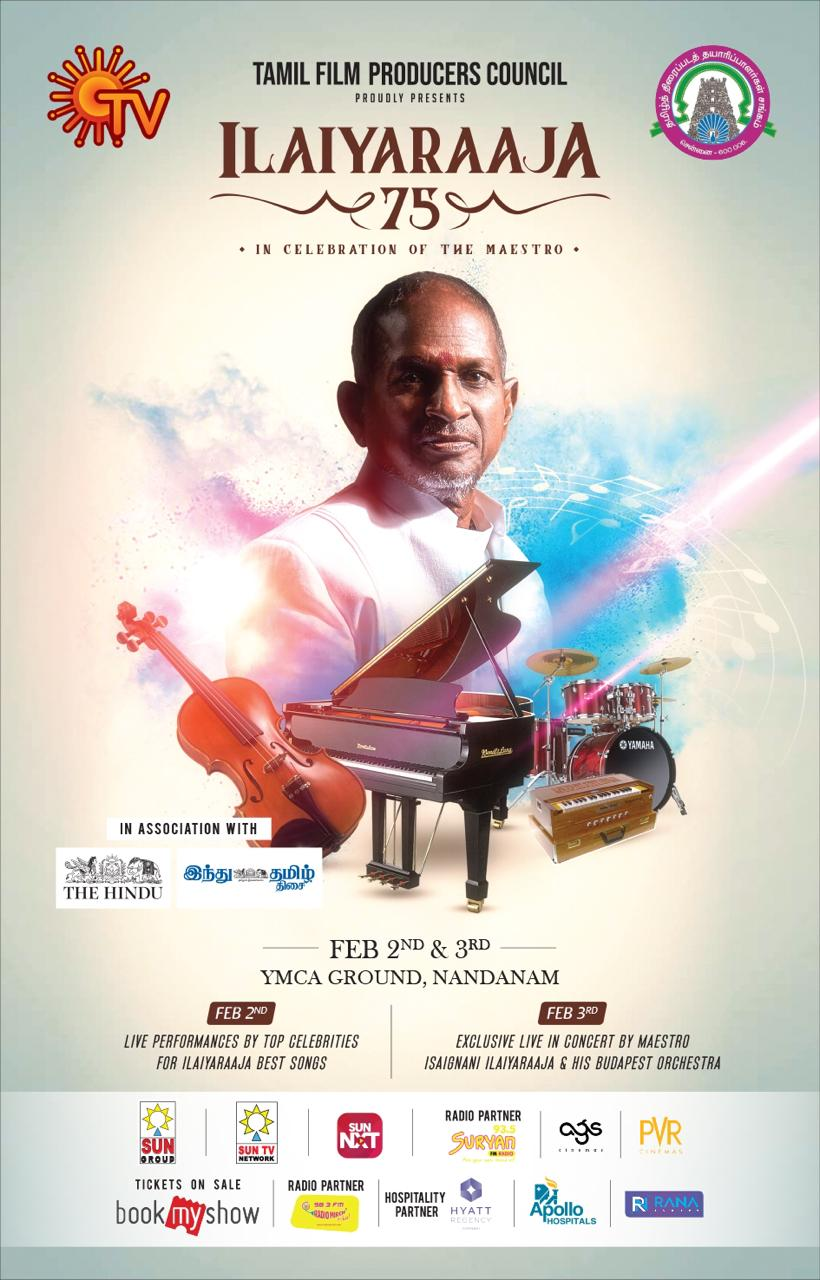 Governor Banwarilal Purohit to inaugurate TFPC grand event 'Ilaiyaraaja 75'