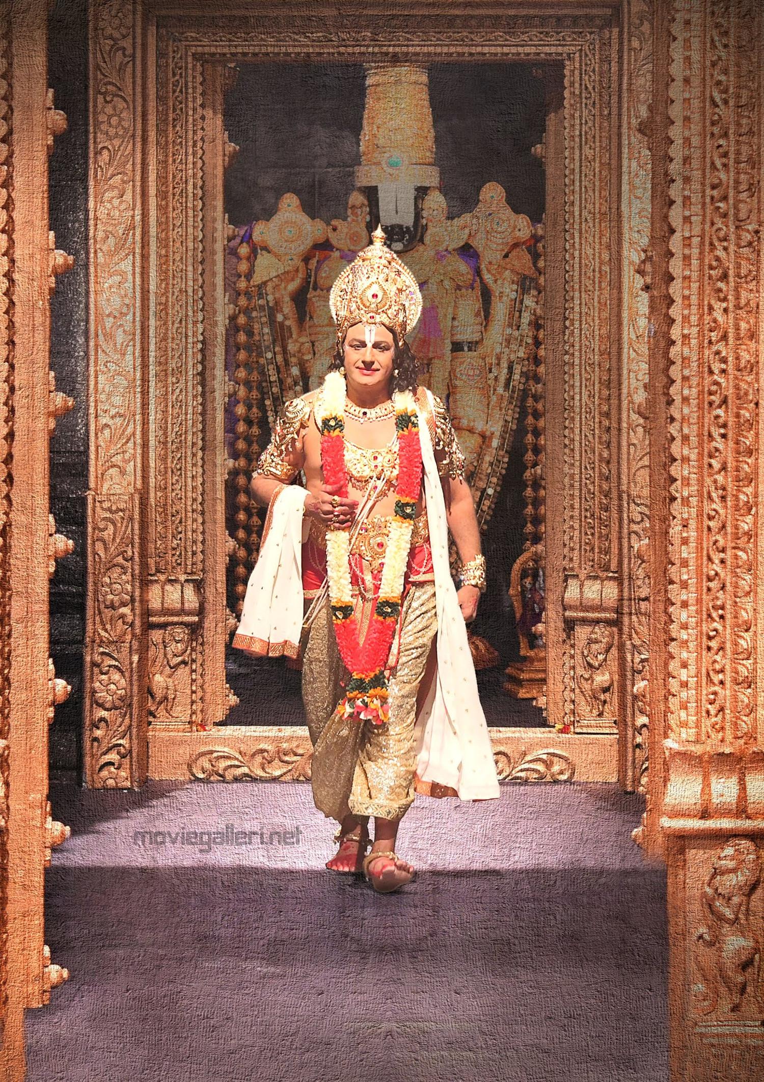 Nandamuri Balakrishna as Lord Venkateshwara from NTR Biopic HD Picture