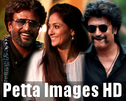 Rajinikanth Simran Trisha Petta Movie Images HD