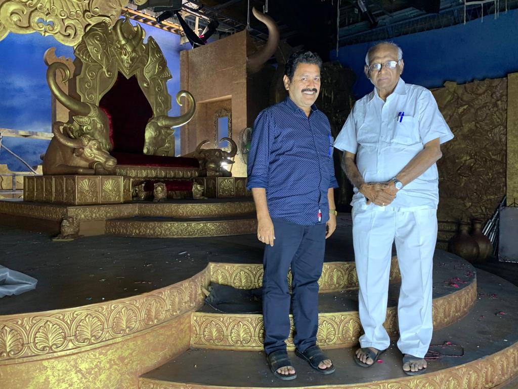 SP Muthuraman Dharma Prabhu shooting spot