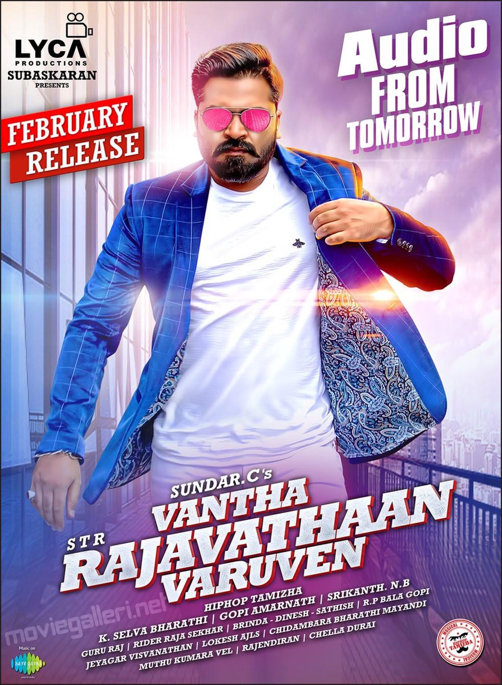 STR Vantha Rajavathaan Varuven Audio Release Posters