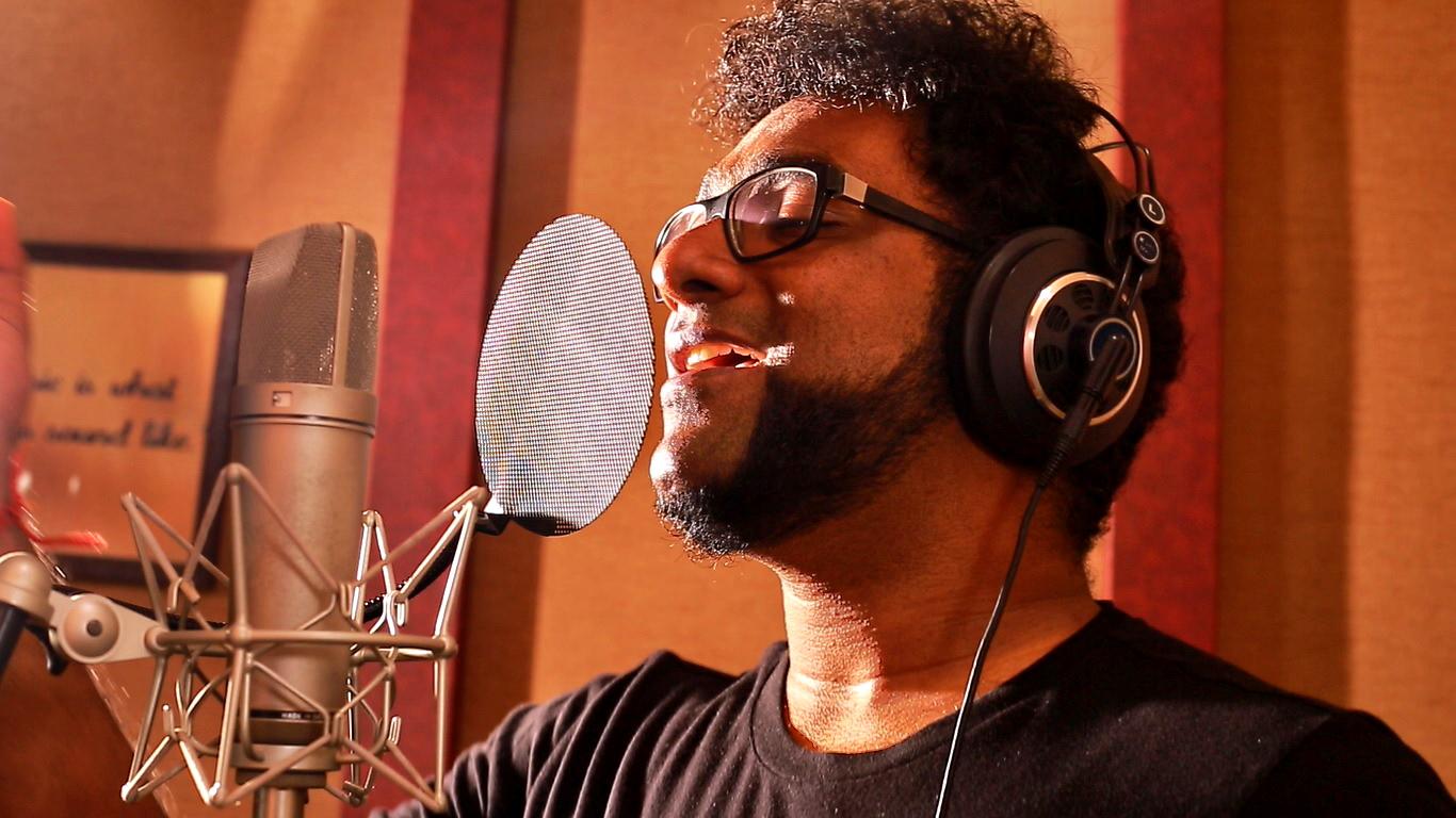 Singer Haricharan in Kaval Thurai Ungal Nanban