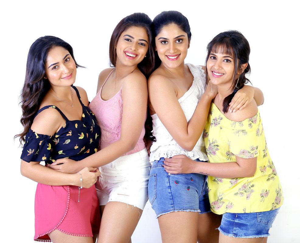 Tridha Chowdary, Dhanya Balakrishna, Siddhi Idnani and Komali Prasad.
