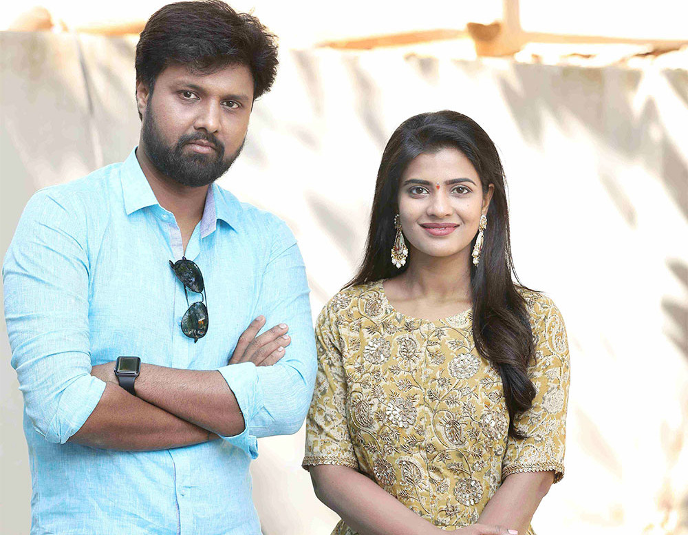 Uday Shankar & Aishwarya Rajesh in Adhiroh Creative Signs Prod No1 Movie