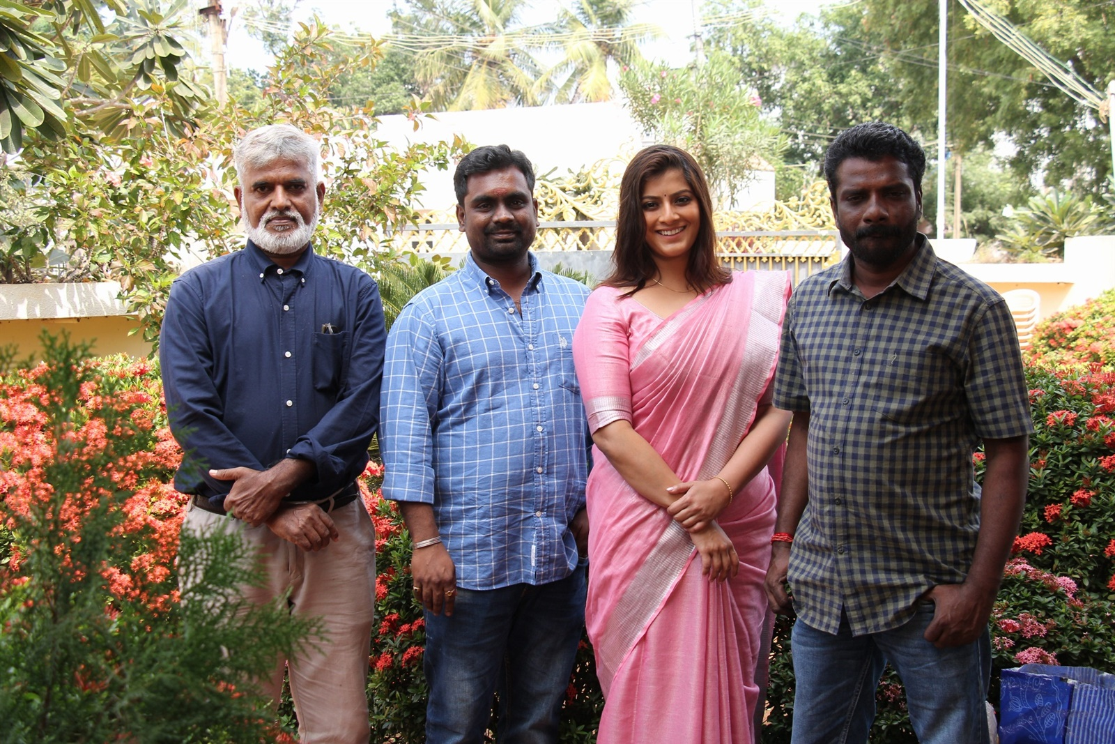 Varalakshmi @ Danny Movie Pooja Stills
