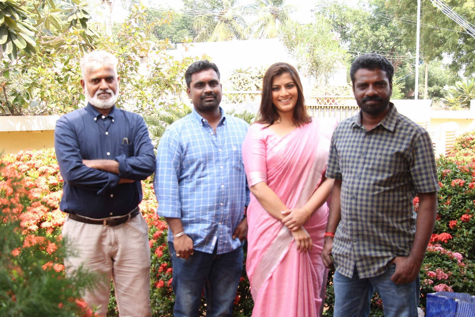 Varalaxmi @ Danny Movie Pooja Stills