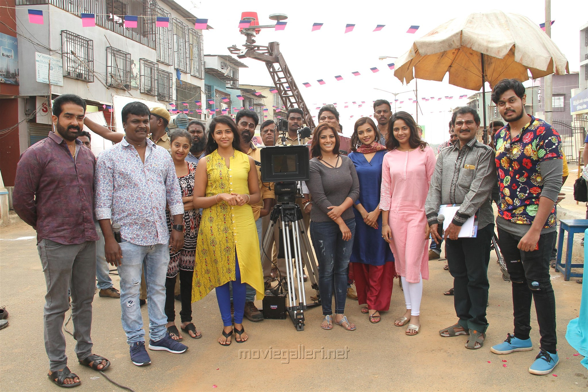 Varalaxmi Kannitheevu Movie Pooja Stills
