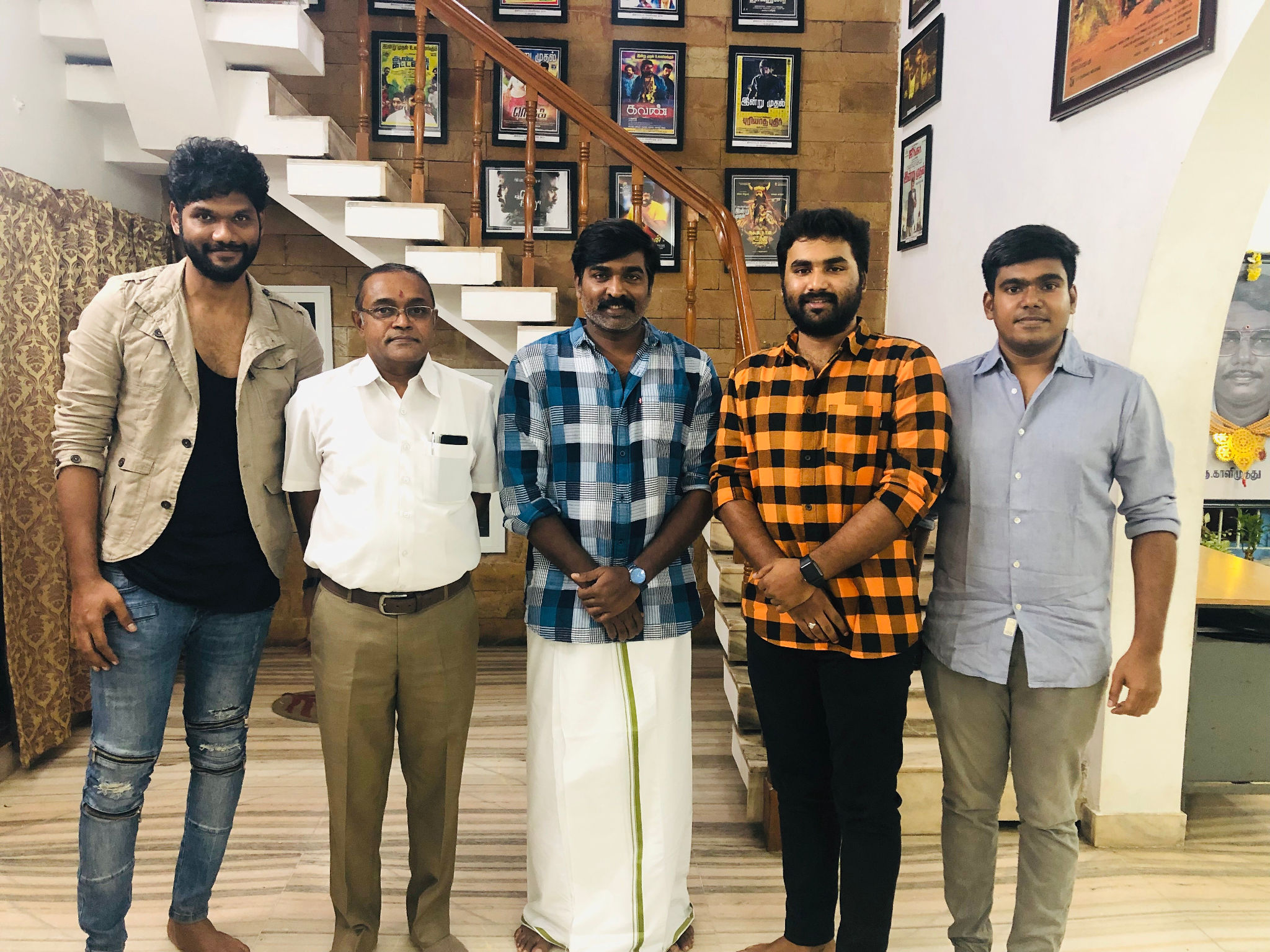 Vijay Sethupathi New Movie with Venkata Krishna Roghanth