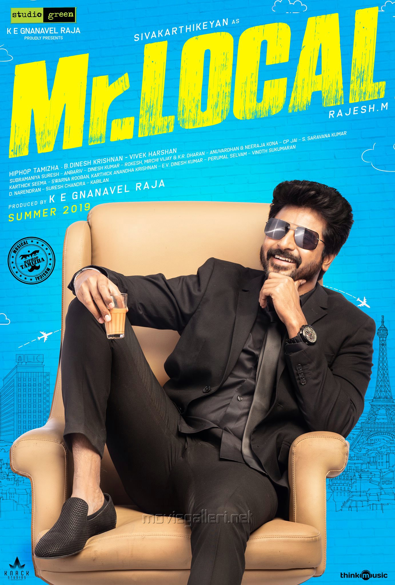 Sivakarthikeyan Mr Local Movie First Look Poster HD