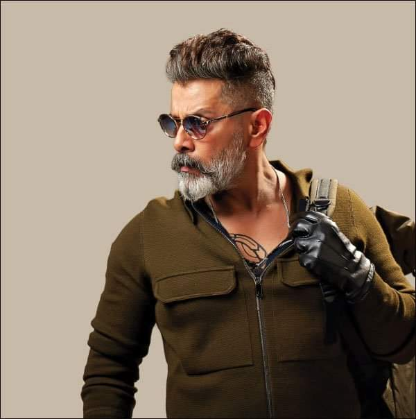 Actor Vikram Kadaram Kondan Movie New Pics