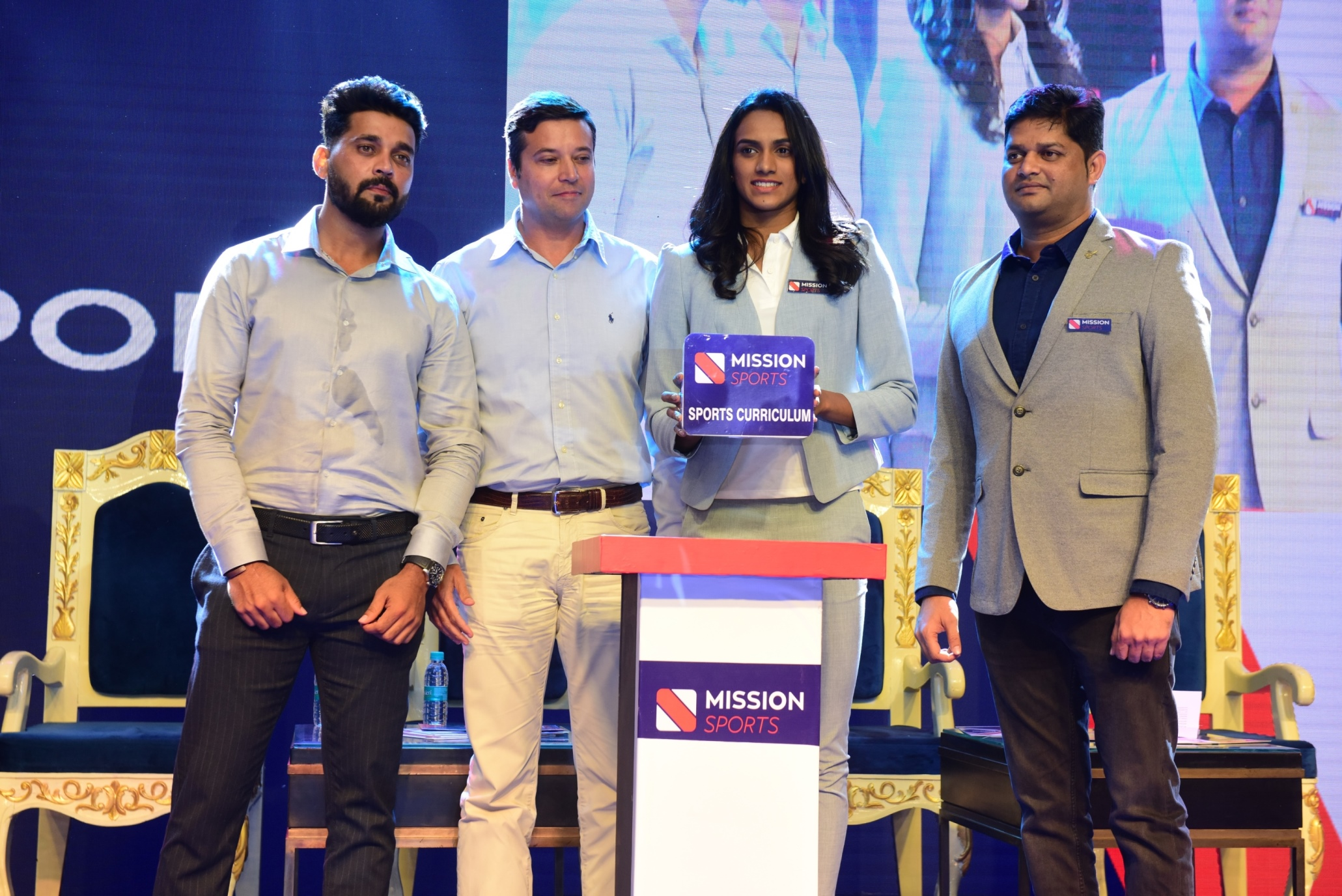 PV Sindhu launched Mission Sports Mobile App & Sports Fitness Card